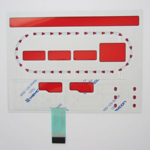Star Trac E-TR GEN 1 Treadmill Replacement Overlay//Keypad