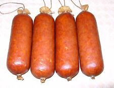 Fibrous casings for sausage 1 1/2 x 12 mahogany colo 25 casings for 25lb sausage