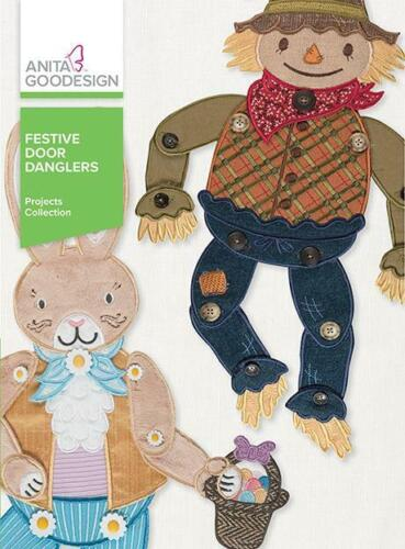 Festive Door Danglers Anita Goodesign Embroidery Machine Design CD NEW