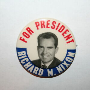 All The Way with JFK Kennedy for President Campaign Political Pin Button NOS