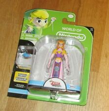 "New in package World of Nintendo Princess Zelda 4"" action figure Jakks Pacific"