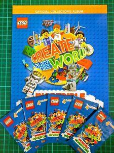 2018 40 CARDS BRAND NEW SAINSBURY LEGO CREATE THE WORLD COLLECTORS ALBUM