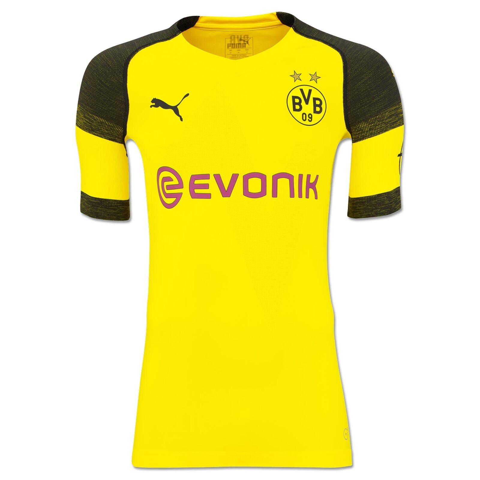 Offiziell BVB Borussia Dortmund Heim Shirt Fußball Trikot Oberteil 201819 Herren