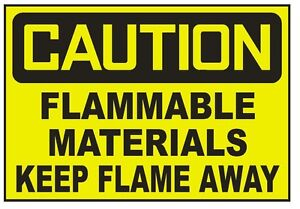 10in x 3in Carbon Dioxide Sticker Vinyl Business Safety Door Sign Decal