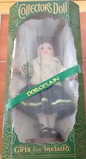 """Vintage Collector's Doll Gifts from Ireland Irish wardrobe 12"""" Porcelain Doll"""