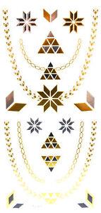 Oh-My-Shop-TJ10-Planche-Tattoo-Tatouage-Ephemere-Body-Art-Triangles-et-Ch