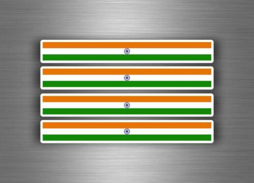 4x sticker decal car stripe motorcycle racing flag bike moto tuning india