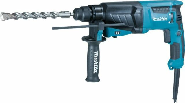 MAKITA HR2630 X7 HAMMER SDS+ 110V WITH FREE CHUCK & ADAPTER