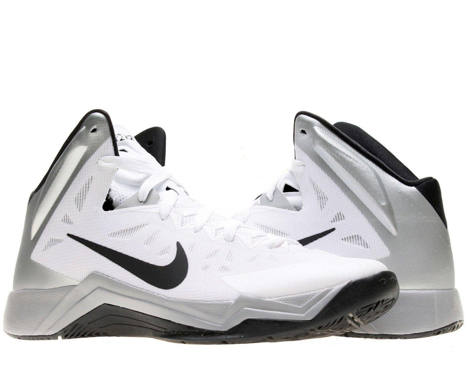 Gli basket uomini sono nike zoom hyperquickness tbc, scarpe da basket Gli 599420 100 bianco grigio sz 13,5 788be9