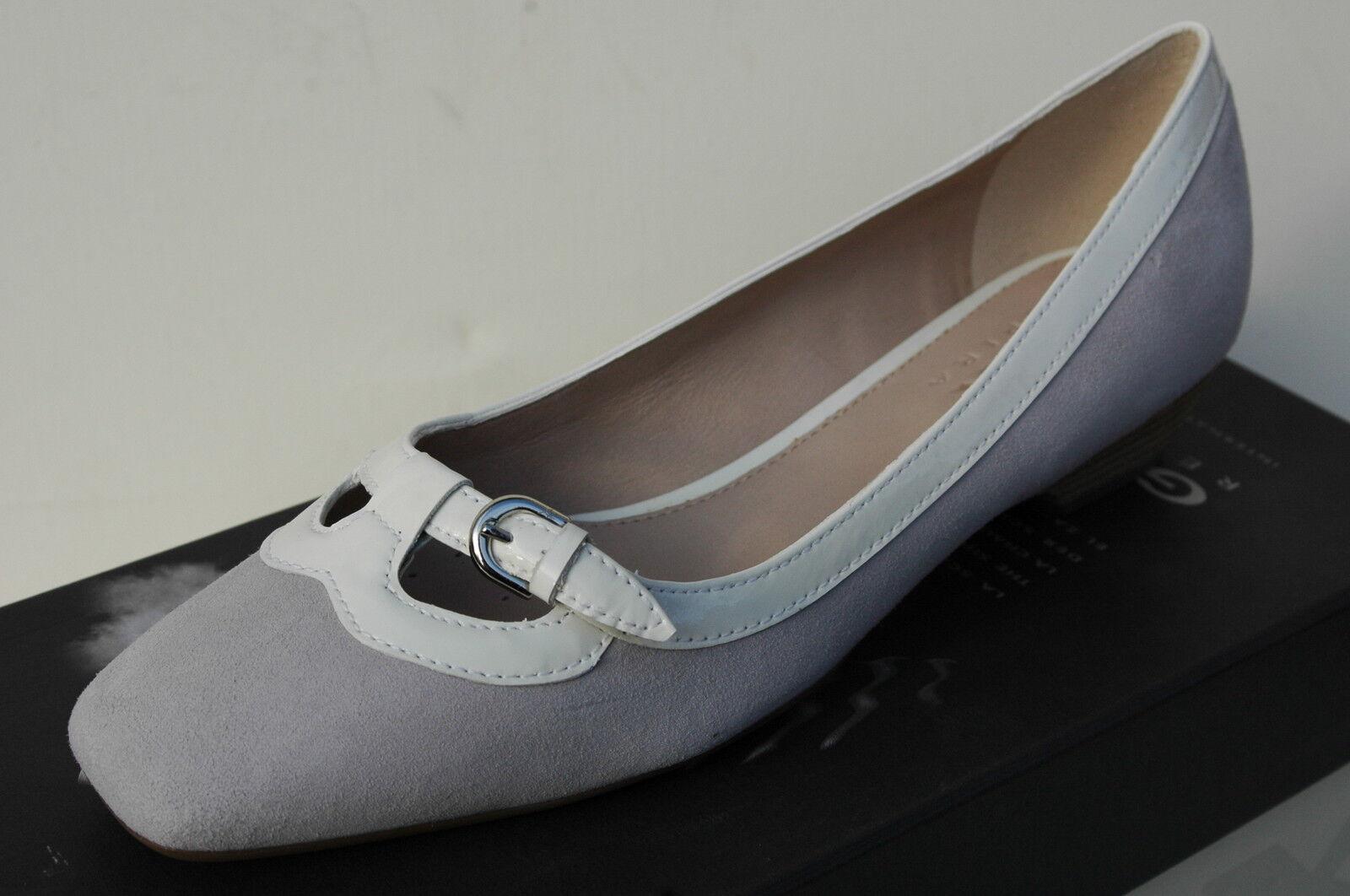 Geox New Rachele Chaussures Femme 37 Mocassins Art Ballerines Escarpins Neuf UK4