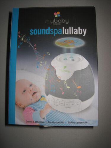 Plays 6 Sounds /& Lullabies MyBaby SoundSpa Lullaby Sounds /& Projection