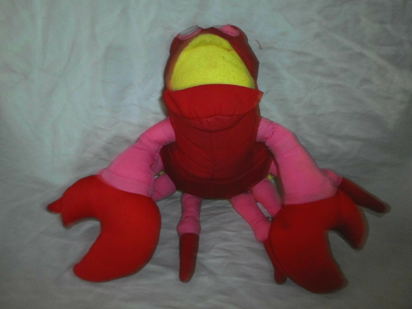 Good Stuff neon Crab Ocean Crustacean Plush Soft Toy Stuffed Animal 10