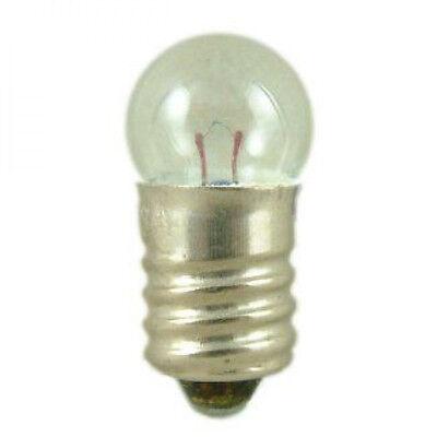 Bulb 2,5 volt - pack of 5 E10 screw 200 ma M.E.S.