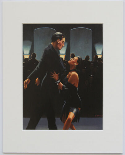 "/'The Dancers Selection/' by Jack Vettriano Set of 5 Mounted Art Prints 10/"" x 8/"""