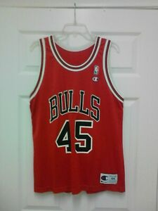 Vintage Michael Jordan #45 Champions Jersey Size 44 | eBay
