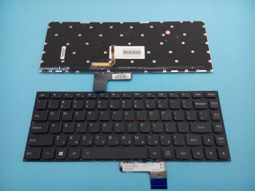 Original New For Lenovo Ideapad yoga 3 14 1470 English Keyboard With Backlit