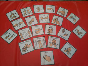 21-SIGN-LANGUAGE-PEC-CARDS-COMMUNICATION-SPECIAL-NEEDS-SPEECH-AND-LANGUAGE