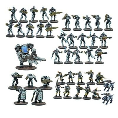 Warpath mgwpe 101 Enforcer Starter Force-Mantic Jogos 28mm