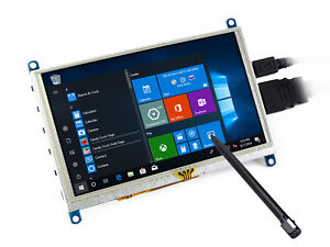 Details about Waveshare 5inch HDMI LCD (G) Resistive Touch Screen for  Raspberry Pi Windows 10