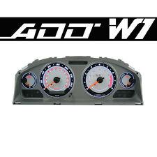 ADD W1 Gauge Overlay FOR 2002 2003 Nissan Sentra SER Cluster White