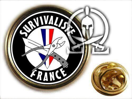 SURVIVALISTE FRANCE Pin/'s . .. prepper survie FOURMIS rsf Berkey LD10 aqua