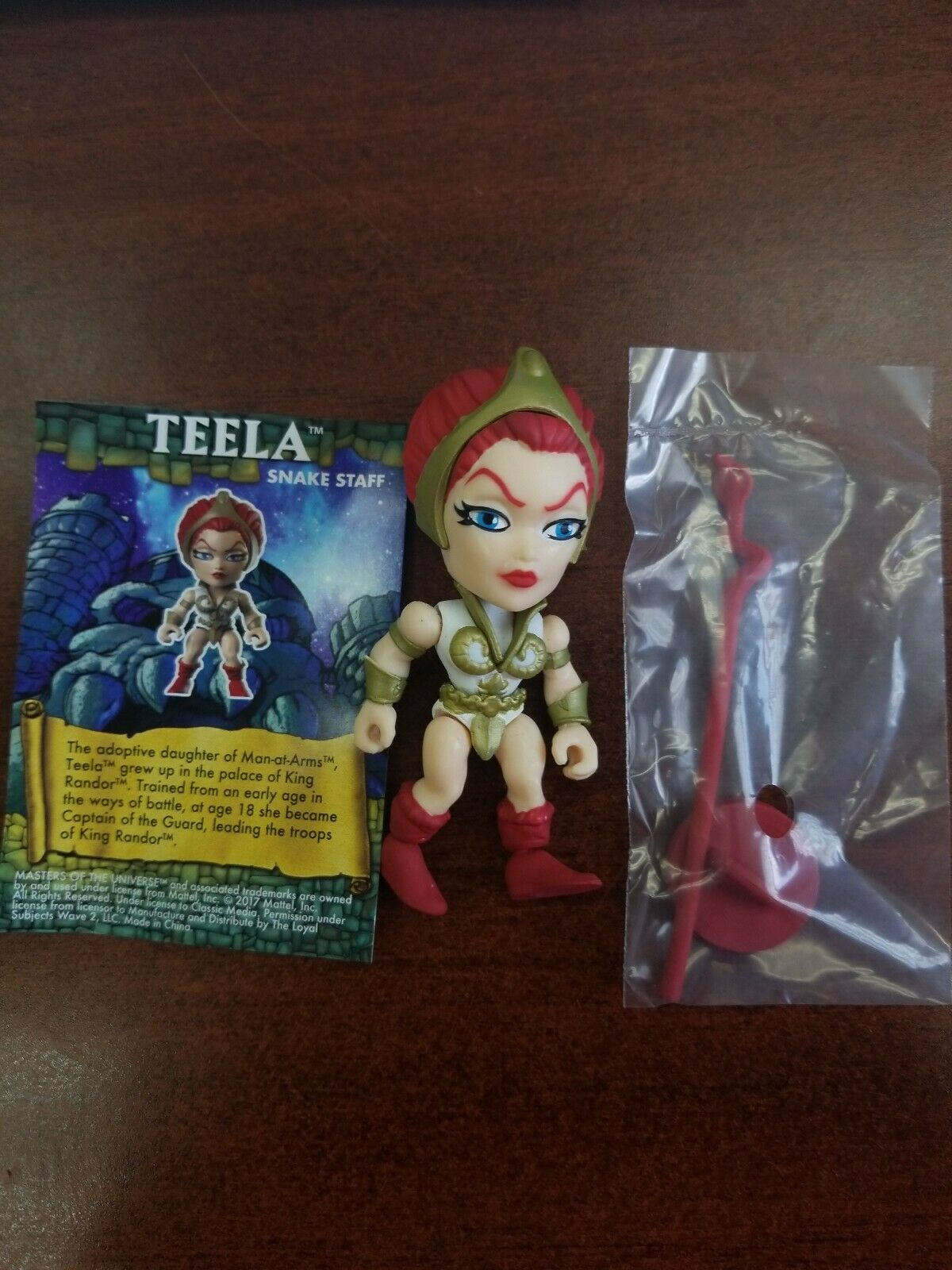 Loyal subjects MOTU Masters of the universe target Teela  rare 1 48  prima i clienti