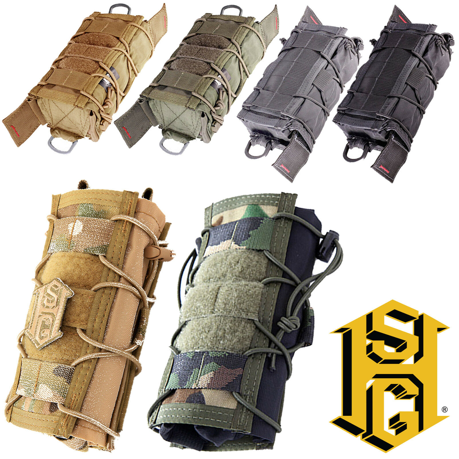 HSGI Tactical MOLLE Modular Multi-Mission M3T Medical IFAK Bolsa de utilidad TACO