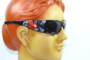 New Vintage Style Motorcycle Unisex Cool Black Techno Polarized Sunglasses