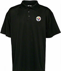 Pittsburgh-Steelers-NFL-Team-Apparel-Embroidered-Black-Polo-Golf-Shirt