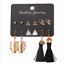 2018-New-Design-Long-Tassel-Stud-Earring-Set-For-Women-Bohemia-Fashion-Jewelry thumbnail 13