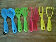 COOKING FUN 8 PACK MINI KITCHEN PLAY UTENSILS TOY SET FOR CHILDREN/KIDS