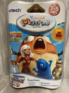 Vtech-V-Smile-Motion-Monsters-vs-Aliens-Active-learning-3D-glasses-Ages-3-5-New