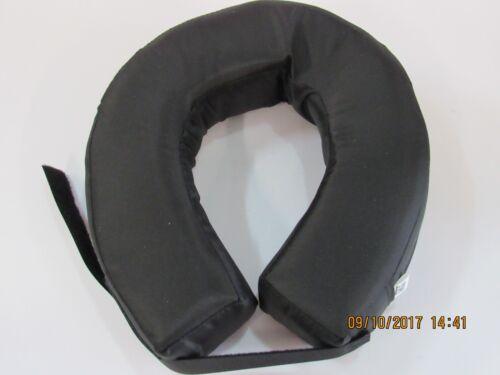 Racing Neck Brace - Flat - Adult - Black