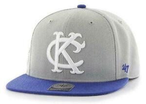 KANSAS-CITY-KC-ATHLETICS-FLAT-BILL-SURE-SHOT-039-47-CAPTAIN-SNAPBACK-CAP-HAT-NEW