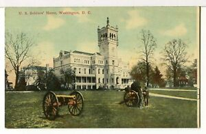 The-Scott-Building-U-S-Soldiers-039-Home-1907-1915-Washington-D-C-Postcard