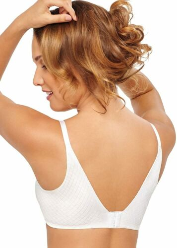 Hanes Women/'s Ultimate Back Smoother Foam White