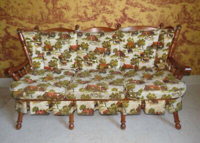 Tell City Chair Company Sofa 8253 Hard Rock Maple Andover