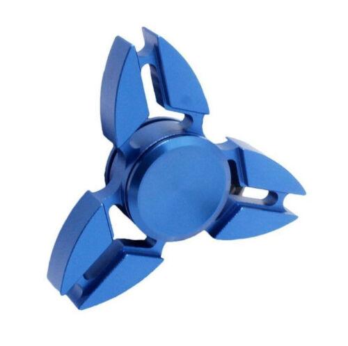 US Stock Triangle Brass Metal Tri Spinner Fidget Torqbar Alloy Finger Toy