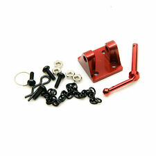 1 set Alloy Metal Trailer Tow PINTLE HOOK For 1/10 Scale RC Crawlers Truck Red