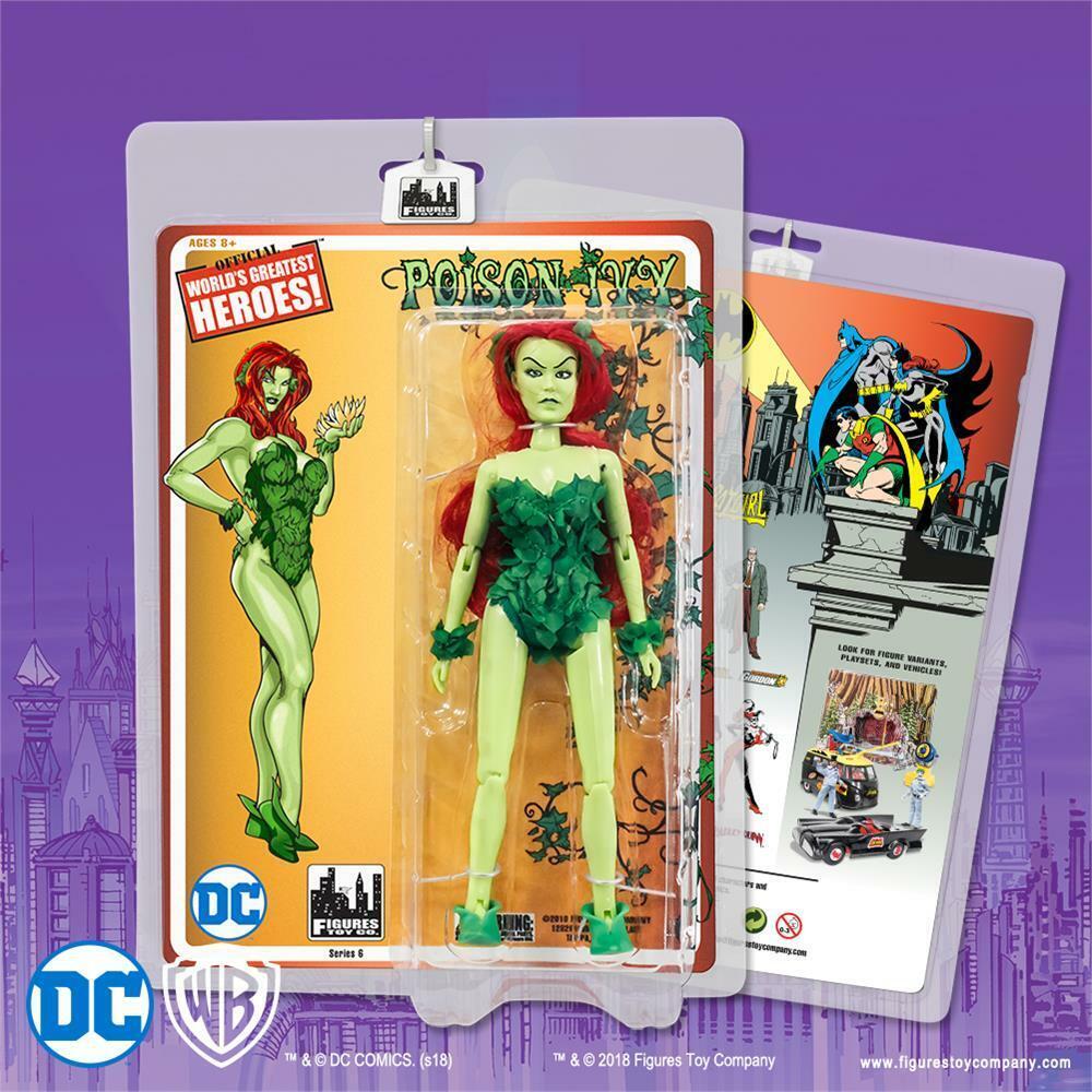 DC Comics Batuomo retrò 8 pollici azione cifra Poison Ivy [verde variante della pelle NUOVO