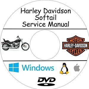 manuale officina harley davidson softail assistenza e riparazione rh ebay com