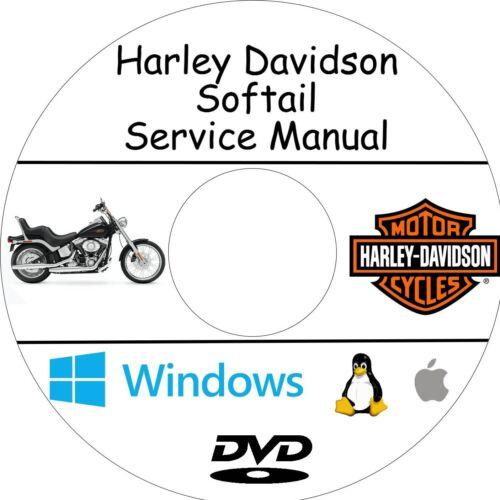 Manuale Officina HARLEY DAVIDSON SOFTAIL Assistenza e Riparazione!