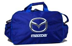 GYM MAZDA TRAVEL TOOL DUFFEL BAG flag FT racing 3 6 miata rx7 rx8 2 coupe