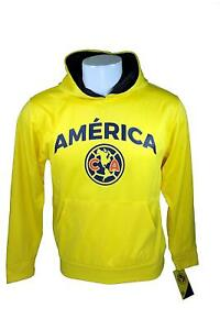 f8da46afa Image is loading Club-America-Fleece-Jacket-Official-Soccer-Youth-Hoodie-