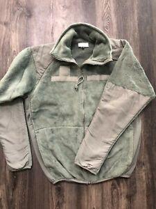 NEW Green M-L L3 Fleece Jacket Medium Long Gen III ECWCS Army Military