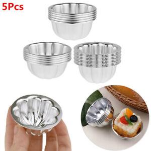 5Pcs-Aluminum-Alloy-Egg-Tart-Molds-Cupcake-Cake-Muffin-Baking-Cups-Tartlets-Pans