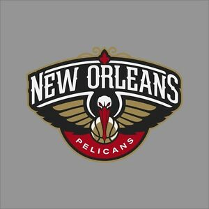 Details About New Orleans Pelicans Nba Team Logo Vinyl Decal Sticker Car Window Wall