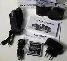 """SAMSUNG NX3000 NUR GEHÃ""""USE/BODY ONLY 20.3 MEGAPIXEL SYSTEMKAMERA BLACK SCHWARZ"""