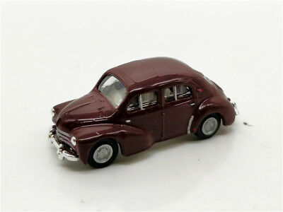 Norev 1//86 HO scale diecast model car Renault 4CV automobile 1950/'s