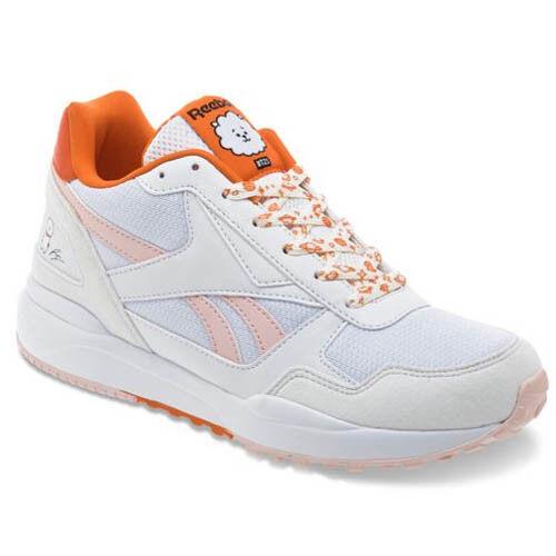 Reebok DV8905 women BT21 Royal bridge Running shoes white orange Sneakers